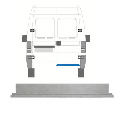FIAT  DUCATO BOXER RELAY JUMPER 1994-2006 REAR DOOR INNER REPAIR PANEL / RIGHT