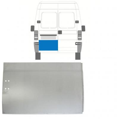 FIAT  DUCATO BOXER RELAY JUMPER 1994-2006 REAR DOOR HIGH REPAIR PANEL / LEFT