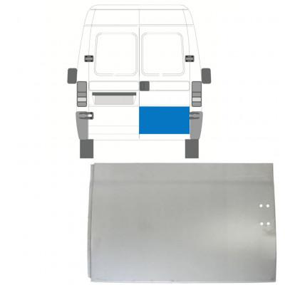 FIAT  DUCATO BOXER RELAY JUMPER 1994-2006 REAR DOOR HIGH REPAIR PANEL / RIGHT