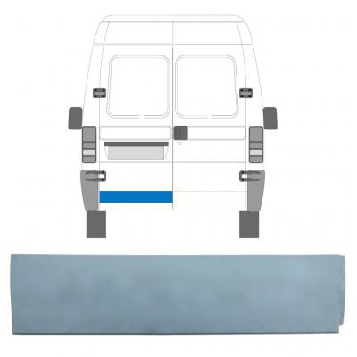 FIAT  DUCATO BOXER RELAY JUMPER 1994-2006 REAR DOOR LOW REPAIR PANEL / LEFT