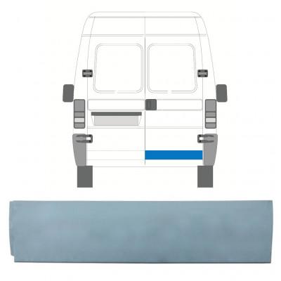FIAT  DUCATO BOXER RELAY JUMPER 1994-2006 REAR DOOR LOW REPAIR PANEL / RIGHT