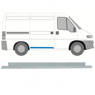 FIAT  DUCATO BOXER RELAY JUMPER 1994-2006 SLIDING DOOR INNER REPAIR PANEL