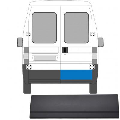 FIAT DUCATO BOXER RELAY 2002-2006 REAR DOOR MOULDING TRIM PANEL / RIGHT