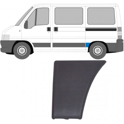 FIAT DUCATO BOXER RELAY 2002- SWB REAR MOULDING TRIM PANEL / LEFT