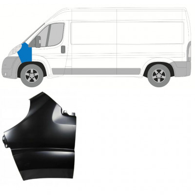 FIAT DUCATO 2006-2014 FRONT WING / LEFT