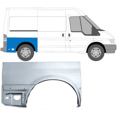 FORD TRANSIT 2000-SWB REAR WING PANEL / RIGHT