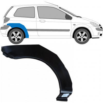 HYUNDAI GETZ 2002-2010 3 DOOR REAR WHEEL ARCH / RIGHT
