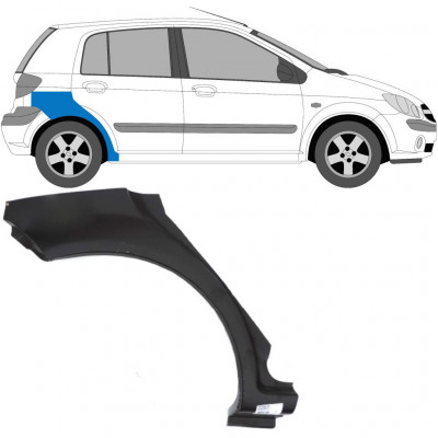 HYUNDAI GETZ 2002-2010 5 DOOR REAR WHEEL ARCH / RIGHT