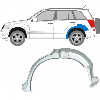 SUZUKI GRAND VITARA 2005-2012 REAR WHEEL ARCH / LEFT