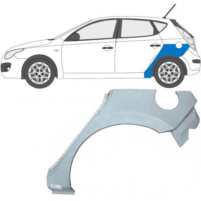 HYUNDAI i30 2007-2011 REAR WHEEL ARCH / LEFT