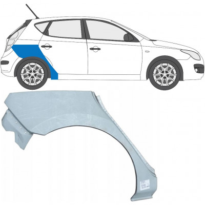 HYUNDAI i30 2007-2012 REAR WHEEL ARCH / RIGHT