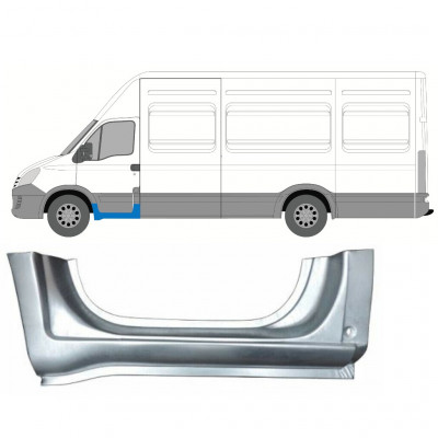 IVECO DAILY 2006-2014 FRONT SILL DOORSTEP PANEL / LEFT