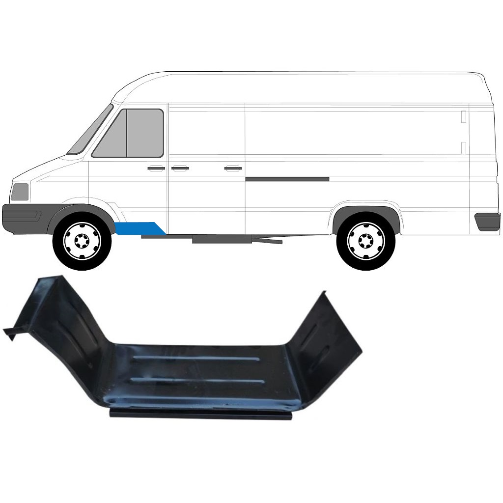 IVECO DAILY 1985-1999 FRONT DOORSTEP PANEL / LEFT