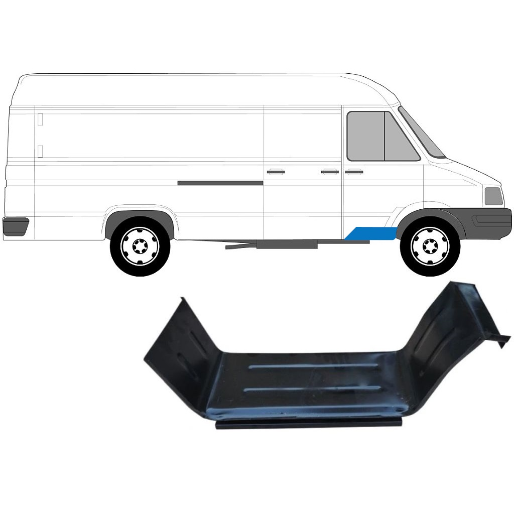 IVECO DAILY 1985-1999 FRONT DOORSTEP PANEL / RIGHT