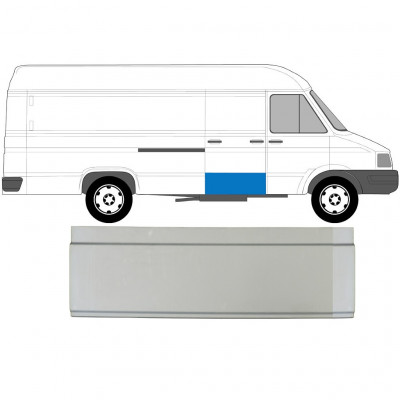 IVECO DAILY 1989-1999 SLIDING DOOR PANEL / RIGHT = LEFT
