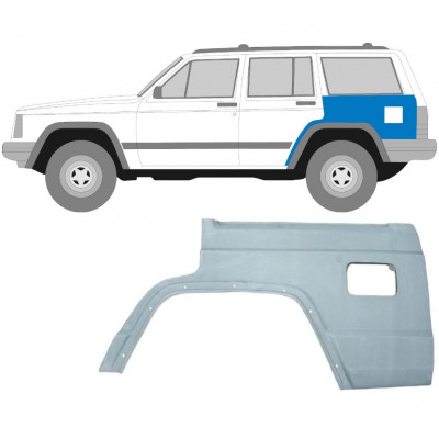 JEEP CHEROKEE XJ 1984-2001 REAR WING PANEL / LEFT