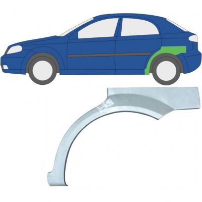 CHEVROLET LACETTI 2003-2009 REAR WHEEL ARCH / LEFT