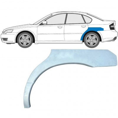 SUBARU LEGACY 1998-2007 REAR WHEEL ARCH / LEFT