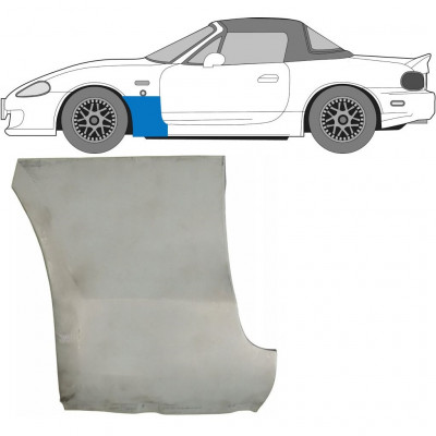 MAZDA MX-5 1998-2005 FRONT WING PANEL / LEFT