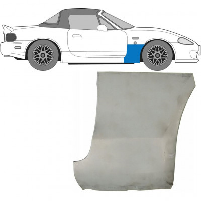 MAZDA MX-5 1998-2005 FRONT WING PANEL / RIGHT