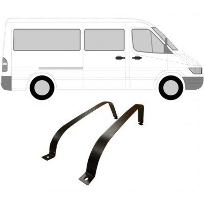 MERCEDES SPRINTER 1995-2006 FUEL TANK STRAPS / PAIR