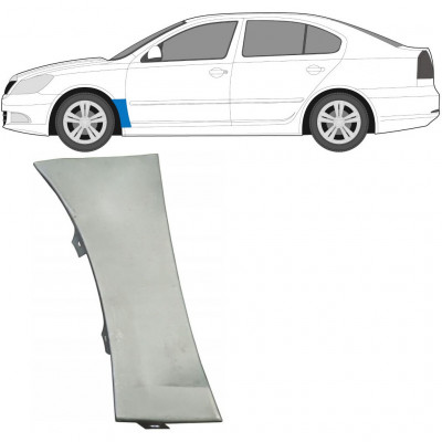 SKODA OCTAVIA 2004-2013 FRONT WING PANEL / LEFT