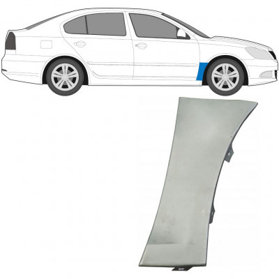 SKODA OCTAVIA 2004-2013 FRONT WING PANEL / RIGHT
