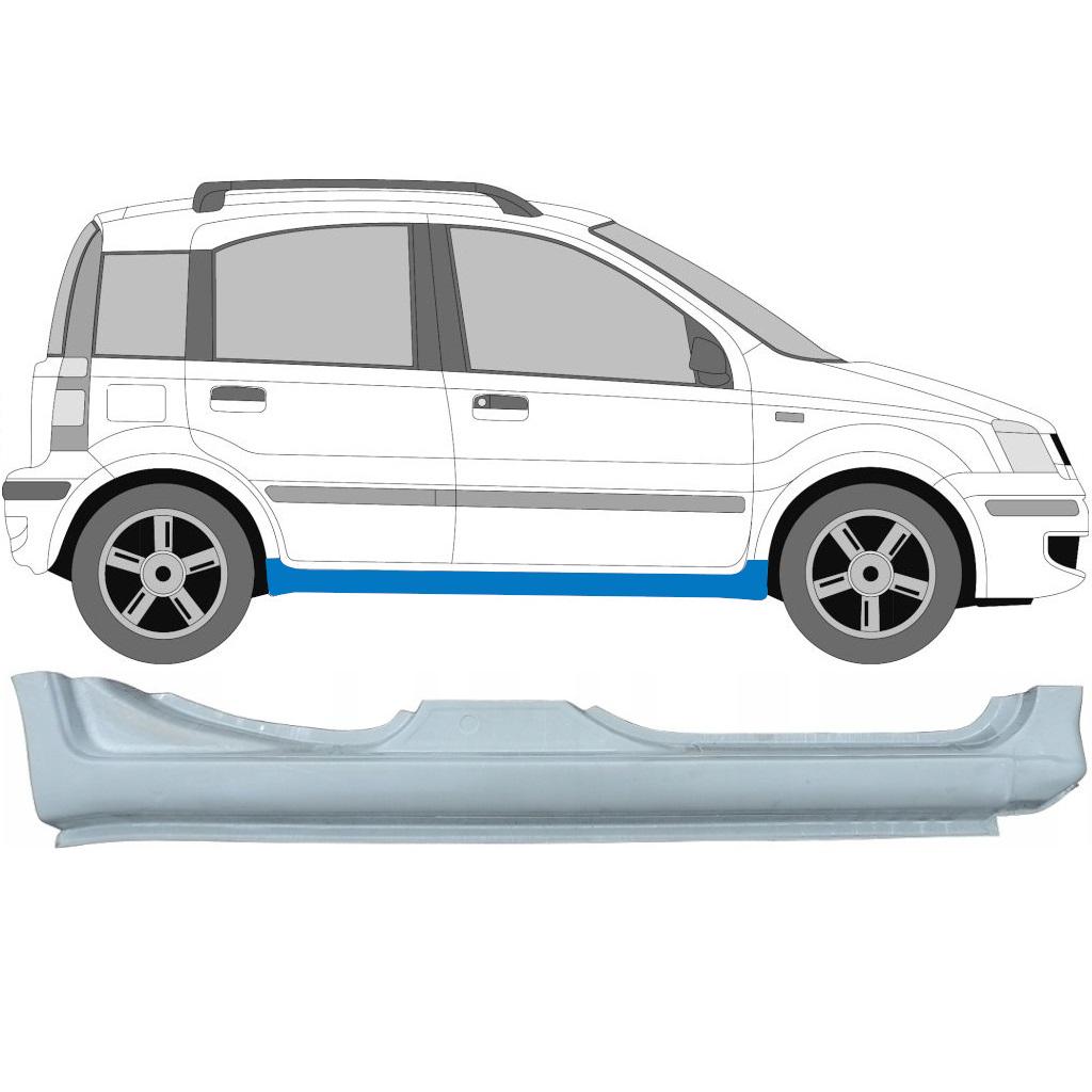 FIAT PANDA 2003-2012 FULL SILL REPAIR PANEL / RIGHT