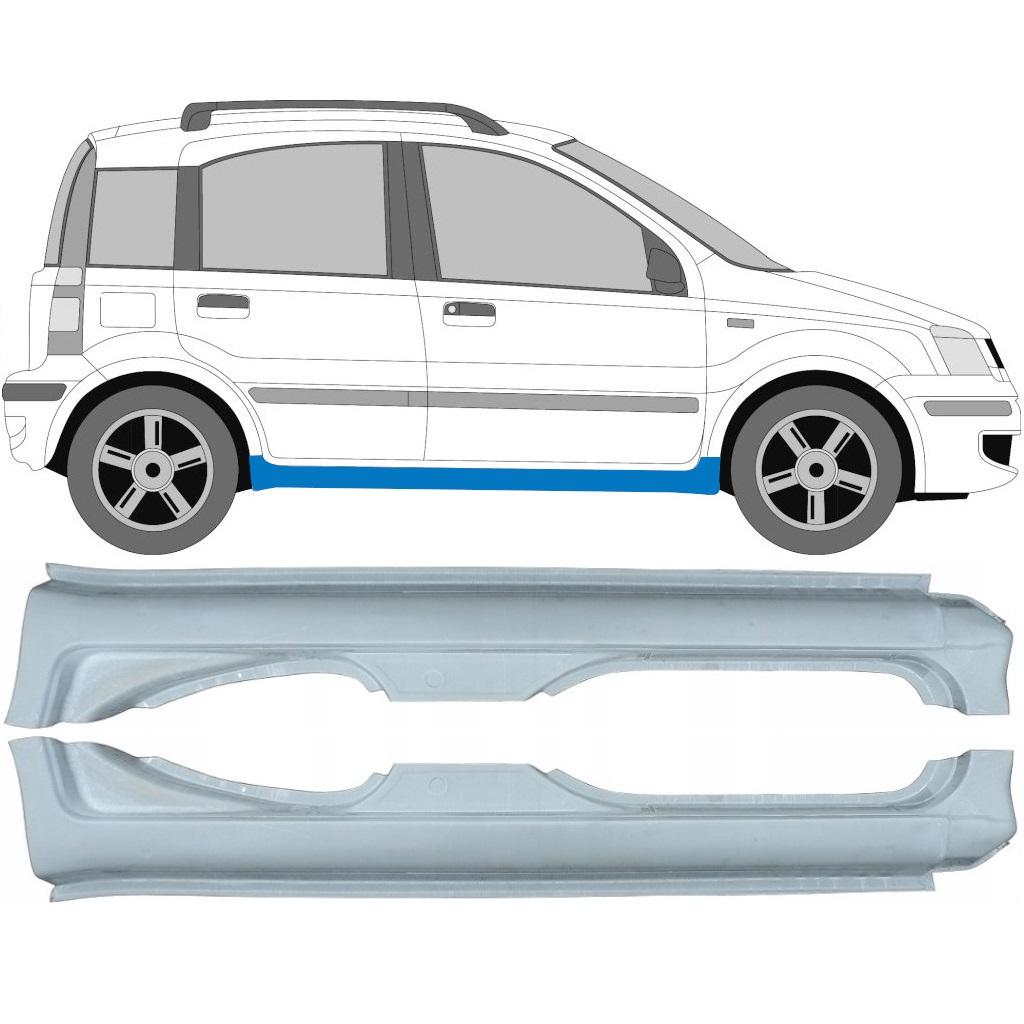 FIAT PANDA 2003-2012 FULL SILL REPAIR PANEL / PAIR