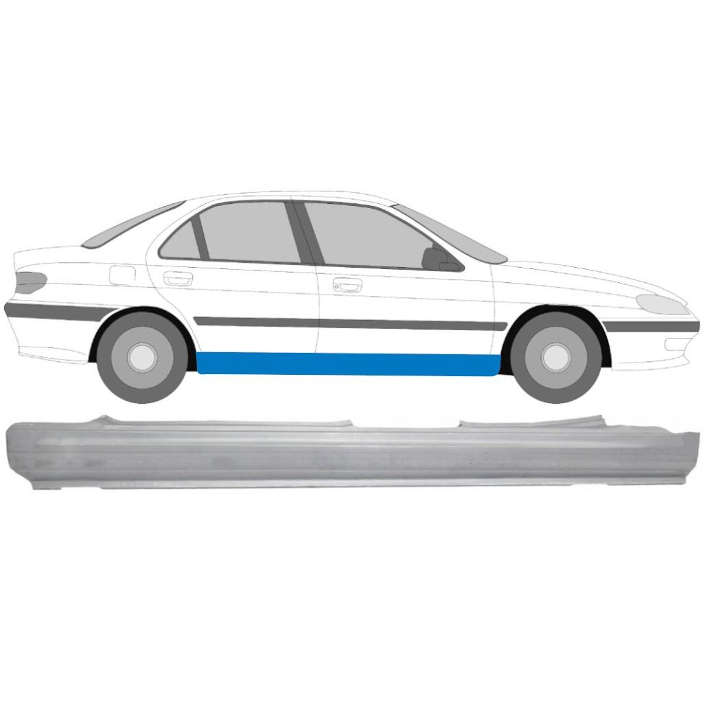 PEUGEOT 406 1995-2005 FULL SILL REPAIR PANEL / RIGHT