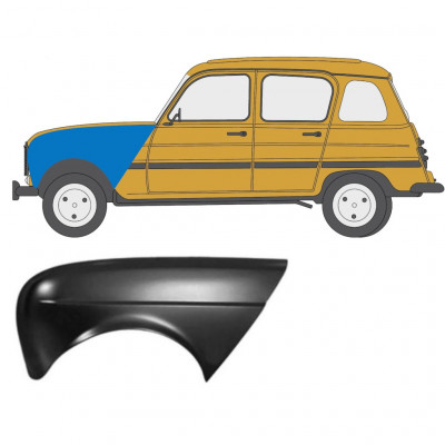 RENAULT 4 1962-1993 FRONT WING / LEFT