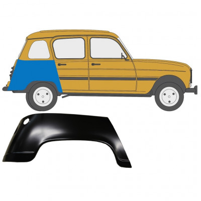 RENAULT 4 1962-1993 REAR WING / RIGHT