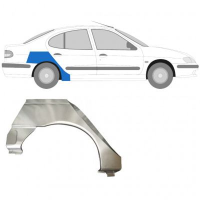 RENAULT MEGANE CLASSIC 1995-2003 REAR WHEEL ARCH / RIGHT
