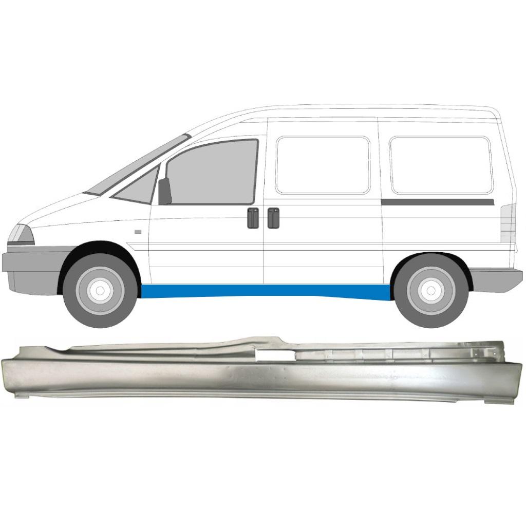 FIAT SCUDO DISPATCH EXPERT 1994- FULL REPAIR PANEL SILL / LEFT