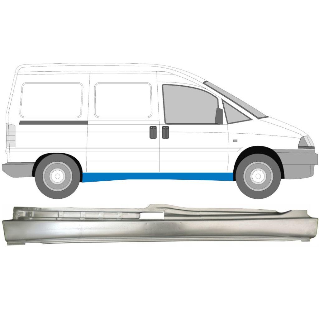 FIAT SCUDO DISPATCH EXPERT 1994- FULL REPAIR PANEL SILL  / RIGHT