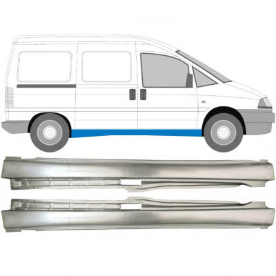 FIAT SCUDO DISPATCH EXPERT 1994- FULL REPAIR PANEL SILL  / PAIR