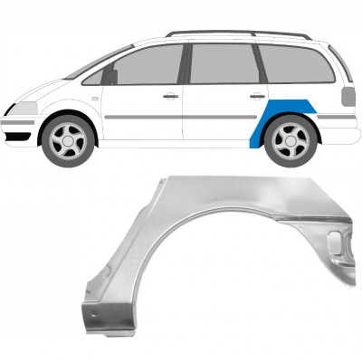 VW SHARAN F GALAXY 2000-2010 REAR WHEEL ARCH / LEFT