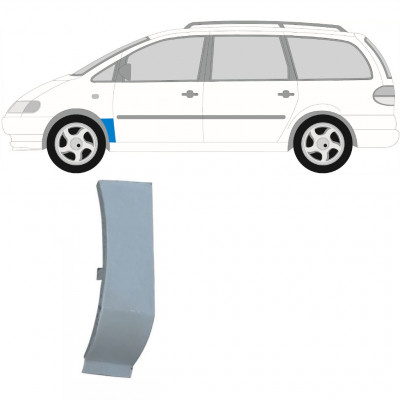 VW SHARAN F GALAXY 1995-2010 FRONT WING REPAIR PANEL / LEFT