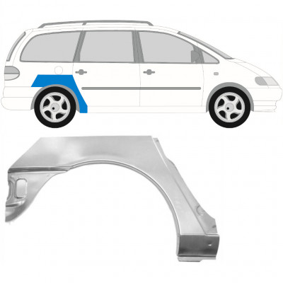 VW SHARAN F GALAXY 2000-2010 REAR WHEEL ARCH / RIGHT
