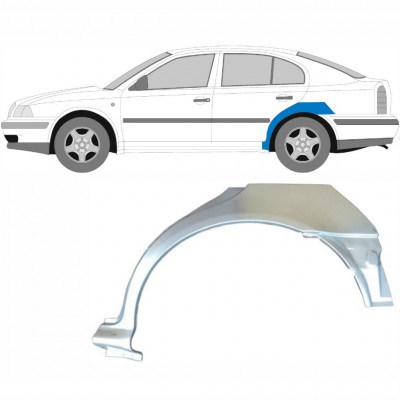 SKODA OCTAVIA 1996-2010 REAR WHEEL ARCH / LEFT