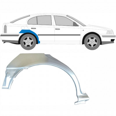 SKODA OCTAVIA 1996-2010 REAR WHEEL ARCH / RIGHT