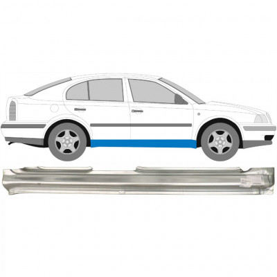 SKODA OCTAVIA 1996-2010 FULL SILL REPAIR PANEL / RIGHT