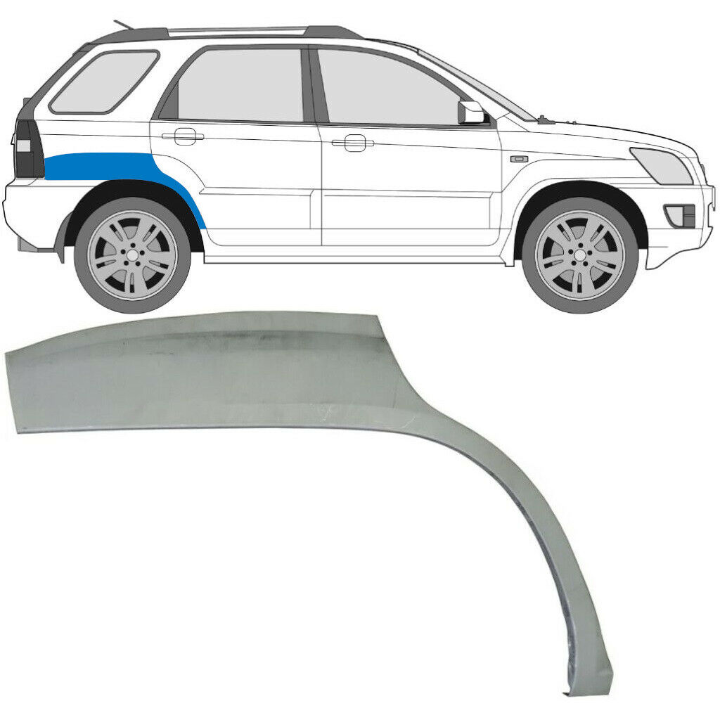 KIA SPORTAGE 2004-2010 REAR WHEEL ARCH / RIGHT