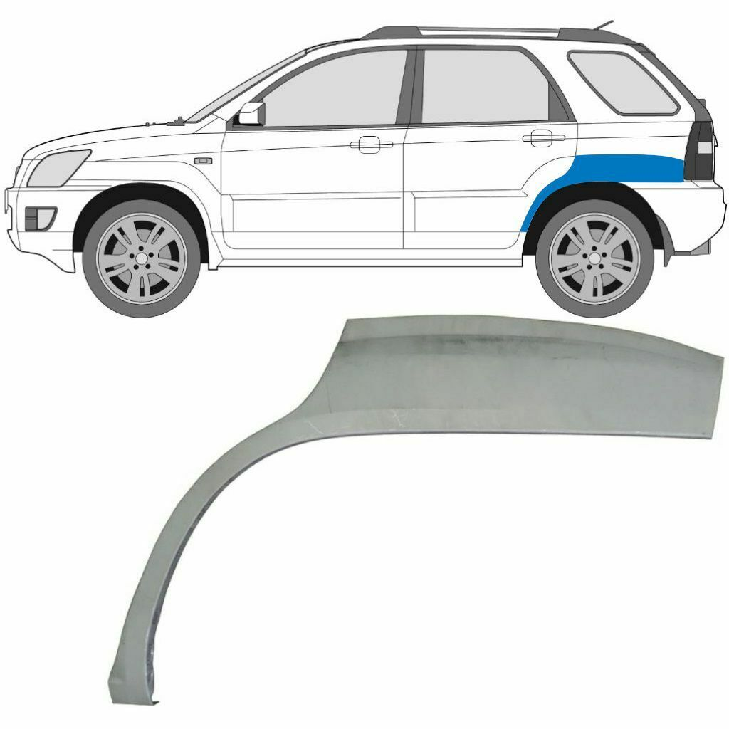 KIA SPORTAGE 2004-2010 REAR WHEEL ARCH / LEFT