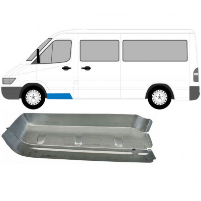 MERCEDES SPRINTER 1995-2006 FRONT DOORSTEP / LEFT