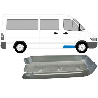 MERCEDES SPRINTER 1995-2006 FRONT DOORSTEP / RIGHT
