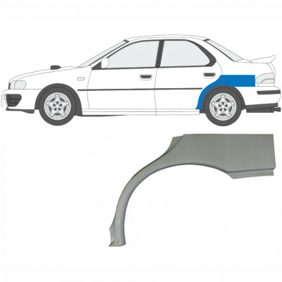 SUBARU IMPREZA 1992-2000 REAR WHEEL ARCH / LEFT