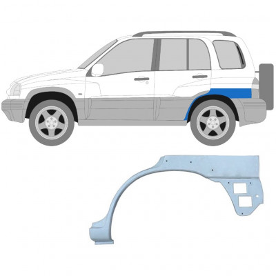 SUZUKI GRAND VITARA 1997-2005 REAR WHEEL ARCH / LEFT