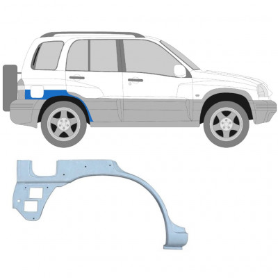 SUZUKI GRAND VITARA 1997-2005 REAR WHEEL ARCH / RIGHT