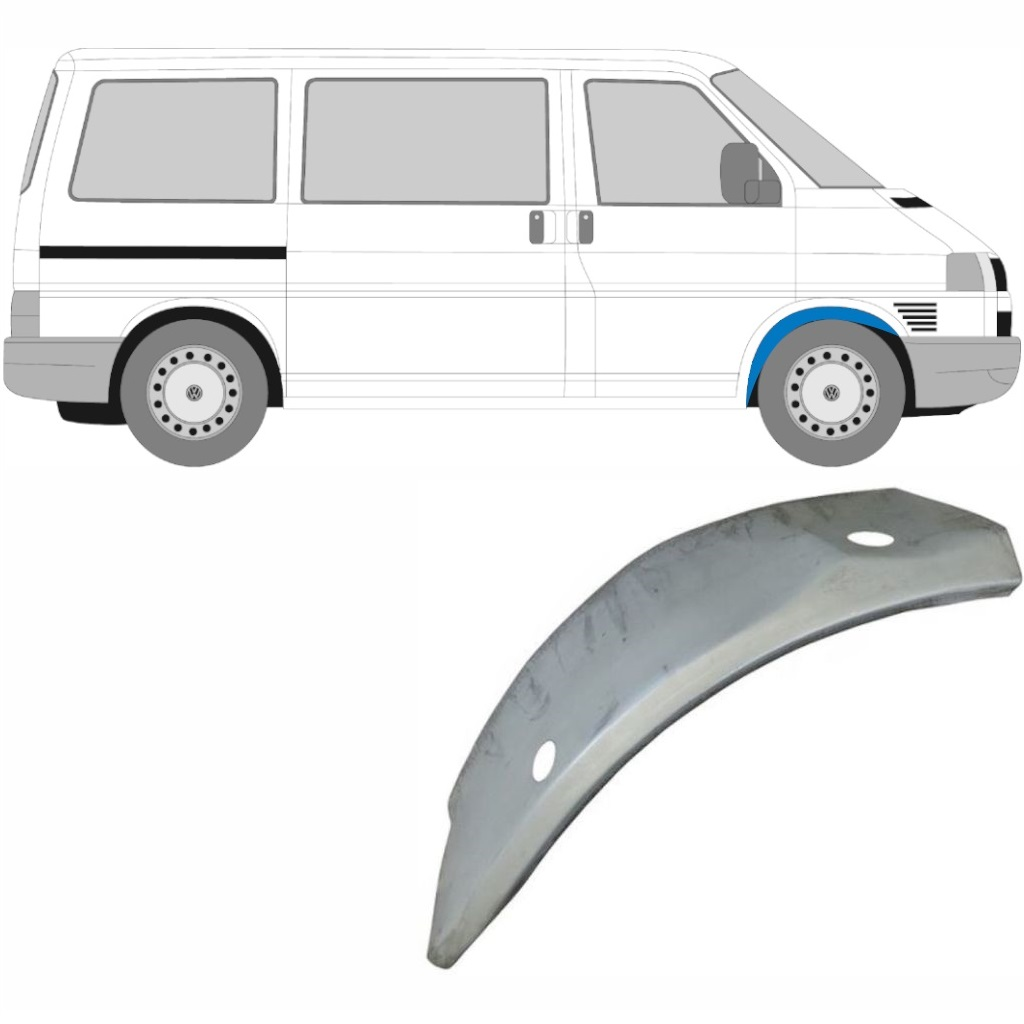 VW T4 1990-2003 FRONT INNER WHEEL ARCH PANEL / RIGHT